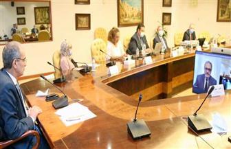 طلعت يشهد توقيع اتفاقية تعاون بين وزارة الاتصالات وتكنولوجيا المعلومات وجامعة الإسكندرية | صور