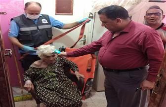 التدخل السريع بتضامن الغربية ينقذ سيدة عجوز بلا مأوى وإيداعها بمؤسسة للرعاية | صور