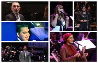 القومية للموسيقى العربية تتغنى بأعمال عبدالوهاب والموجي والأطرش| صور