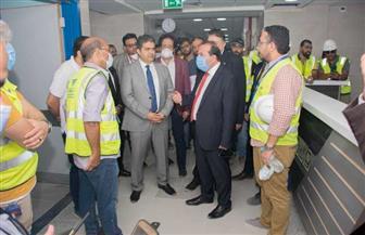 رئيس جامعة طنطا يتفقد أعمال الإنشاءات لمبنى مستشفى الجراجات الجديد | صور