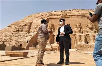 سفير كوريا الجنوبية يزور معبد أبوسمبل | صور