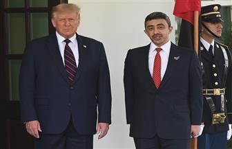 ترامب يستقبل وزير الخارجية الإماراتي الشيخ عبدالله بن زايد آل نهيان