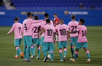 «ميسي» يسجل هدفين في فوز ودي لبرشلونة على جيرونا استعدادا للدوري الإسباني