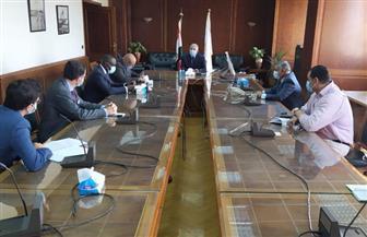 وزير الري يناقش مع سكرتير لجنة الخارجية بالبرلمان الفرنسي التعاون ومستجدات سد النهضة| صور
