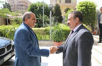 محافـظ المنوفية يستقبل رئيس جامعة الأزهر لتكريم أوائل طلاب الثانوية الأزهرية   صور