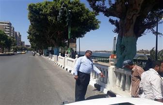 محافظ أسيوط: استكمال أعمال التطوير والرصف بشوارع النميس والثورة وكورنيش النيل| صور