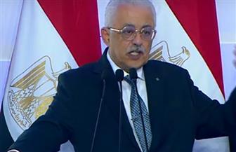 وزير التعليم: مكانة مصر في التعليم ارتفعت عشرات الدرجات بفضل الأون لاين
