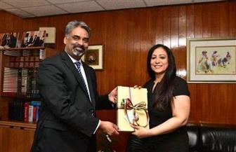 رئيس وزراء موريشيوس يستقبل سفير مصر في بورت لويس   صور