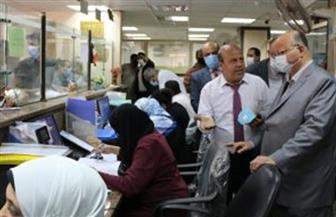 محافظ القاهرة يتفقد المراكز التكنولوجية لمتابعة إجراءات التصالح على مخالفات البناء