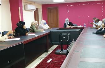 رئيسة مدينة سفاجا تبحث 40 شكوى في لقاء المواطنين | صور