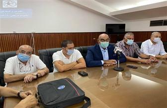 اجتماع مجلس إدارة الاتحاد المصرى لكرة اليد مع أندية المحترفين | صور