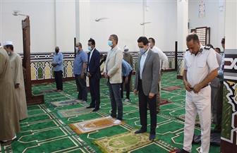 افتتاح مسجد جديد بمنطقة الورشة في الفيوم   صور