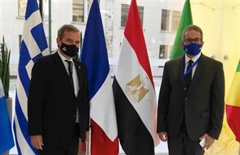 اجتماعات وزارية مكثفة بين مصر واليونان والمملكة المغربية ورومانيا   صور