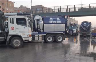 «الصرف الصحى بالقاهرة» تعلن عن حدوث سدد بخط الصرف الصحى الرئيسى بمنطقة منشية ناصر