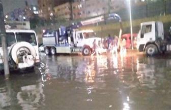 «صرف القاهرة» : السيطرة على تجمعات المياه بطريق الأوتوستراد