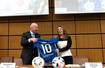«فيفا» لـ غادة والي: «حظ سعيد بالقميص رقم 10»