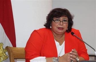 وزيرة الثقافة تشهد عرضين من المبادرة المسرحية المؤلف مصري في بيرم التونسي بالإسكندرية