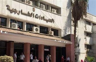 مستشفى الطلبة بالجيزة تستقبل طلاب جامعة القاهرة الجدد لإجراء الكشف الطبي