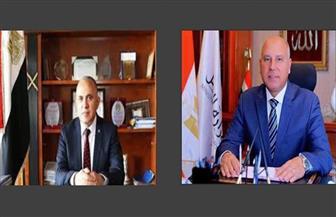 وزيرا النقل والري يبحثان دفع تنفيذ المشروعات المشتركة لسرعة إنجازها | صور