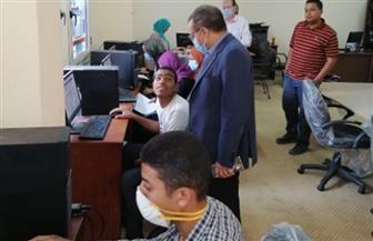 جامعة الأقصر تستقبل طلاب المرحلة الثالثة من تنسيق الثانوية العامة | صور