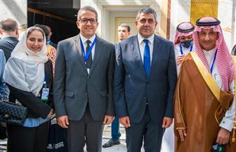 وزير السياحة والآثار يبحث مع نظيره السعودي سبل التعاون المشترك بين البلدين | صور