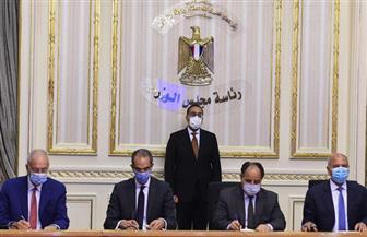رئيس الوزراء يشهد توقيع بروتوكول تعاون لتبسيط  إجراءات الإفراج الجمركي عن البضائع بالمواني  صور