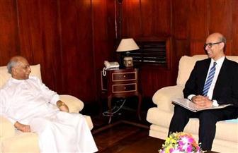 السفير المصري في كولومبو يلتقي بوزير الخارجية السريلانكي الجديد
