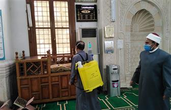 «الأوقاف» تواصل حملاتها لنظافة وتعقيم المساجد بجميع المديريات الإقليمية | صور