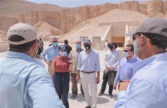 السفير الأمريكي: نفخر بالشراكة مع مصر حكومة وشعبا للحفاظ على المواقع التاريخية