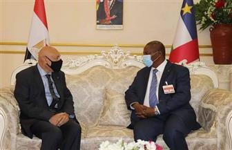السفير المصري الجديد لدى إفريقيا الوسطى يقدم أوراق اعتماده |صور