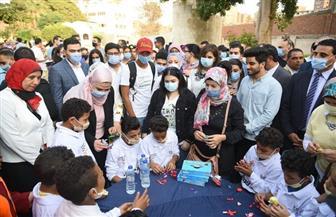 وزيرتا الهجرة والتضامن تشاركان أطفال «روضة السيدة» أنشطتهم الثقافية |صور