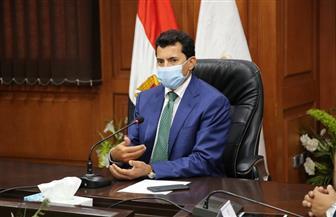 وزير الرياضة يبحث آخر استعدادات مونديال اليد في اجتماعه الأسبوعي