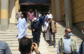 وزير الأوقاف يوجه بالإسراع في إنشاء مسجد الدهار الكبير بالغردقة| صور