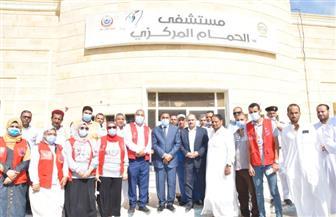 محافظ مطروح يفتتح مركز شباب بمدينة الحمام | صور