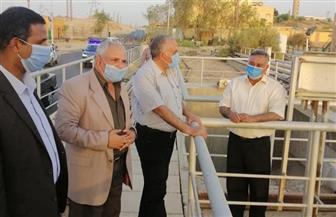 وزير الري يتفقد عددا من المنشآت والمشروعات المائية في أسوان | صور