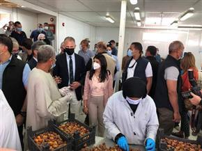 وزيرة التعاون الدولي تتفقد مشروعات تنموية بالأقصر لدعم صغار المزارعين|صور