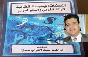 """صدور كتاب""""اللسانيات الوظيفية النظامية.. الوافد الغربي والنحو العربي"""" للدكتور إبراهيم حمزة"""