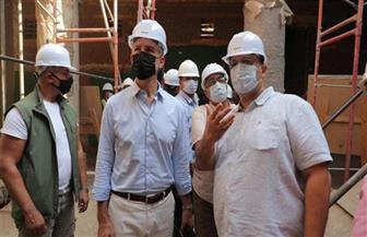 السفير الأمريكي يؤكد الشراكة القوية مع مصر في مجالات الصرف الصحي وتعزيز المجالات الزراعية |صور