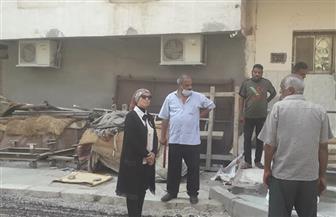رئيس مدينة سفاجا تقود حملة  لإزالة التعديات  بمنطقة الجراد | صور
