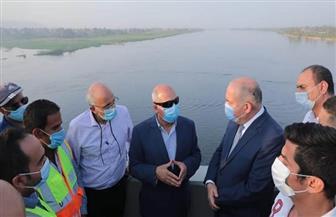 وزير النقل يتفقد الأعمال النهائية لتنفيذ محـور قوص على النيل بمحافظة قنا| صور
