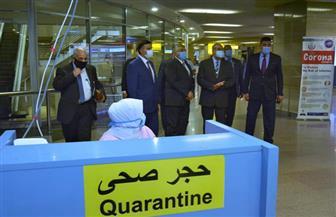 جولة تفقدية لوزير الطيران المدني في مطار القاهرة مع أول يوم لتطبيق شهادة PCR | صور