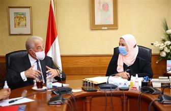وزيرة التضامن تستقبل محافظ جنوب سيناء لمناقشة عدد من ملفات التعاون| صور