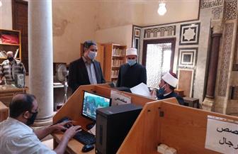 الجامع الأزهر يواصل اختبارات المتقدمين لوظيفة باحث| صور