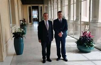 مساعد وزير الخارجية للشئون الأوروبية يلتقي وكيل الخارجية التشيكية| صور