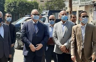 محافظ القاهرة يشهد حالة إزالة في النزهة.. ورئيس الحي يؤكد: إحالة ٣٣ مخالفة للنيابة العسكرية