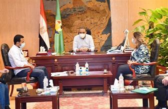 محافظ الفيوم يجتمع بمساعد وزير السياحة والآثار لتنشيط القطاع | صور