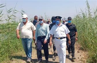 محافظة بورسعيد تعيد 120 فدانا عقب إزالة مزارع سمكية مخالفة | صور