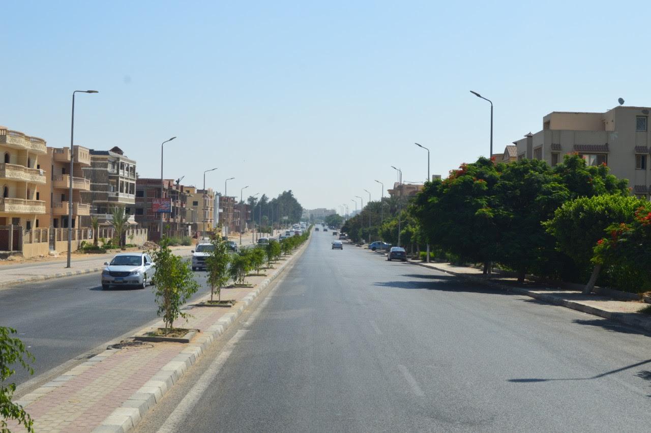 مشروع رفع كفاءة محور الشباب بمدينة الشروق
