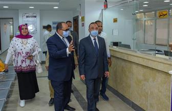 محافظ الإسكندرية: تجهيز عدة مكاتب توثيق شهر عقاري مطورة للحد من زحام المواطنين | صور