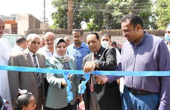 افتتاح مكتب توثيق الشهر العقاري بقرية دندرة بقنا | صور